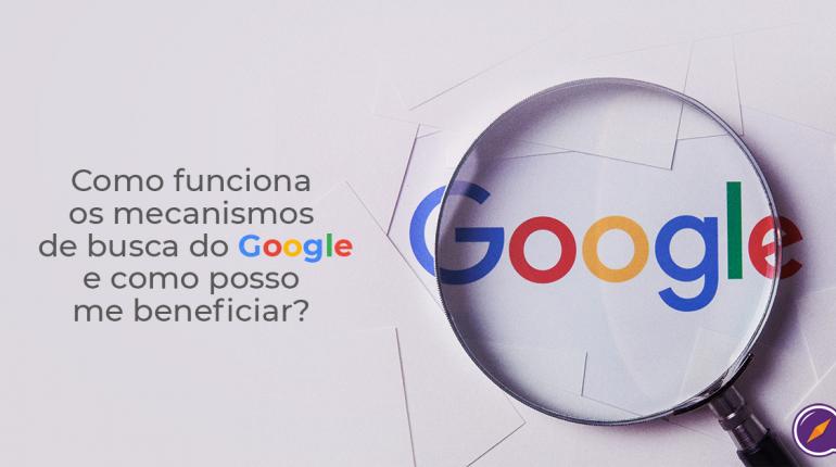 mecanismos de busca do google